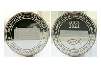 Abi-Jahrgangsmünze-Silber_Münzansicht