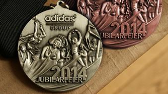 Medaillen für Sport