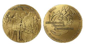 Mittelalter Münze Gold