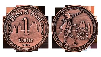 Mittelaltermarkt Münze Kupfer