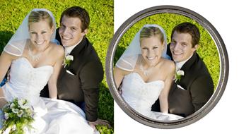 Hochzeitmünze Druck