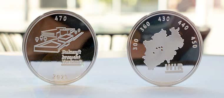 Bundesbank_Silbermünze_Mitarbeitergeschenk