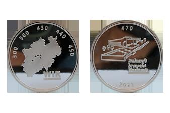 Bundesbank_Silbermünze_Münzansicht_Mitarbeitergeschenk