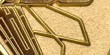 Bronze - Poliert Sandstrahl