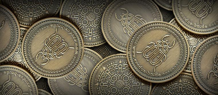 Escape Room Münzen