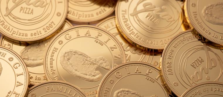 GiaPizza Münzen