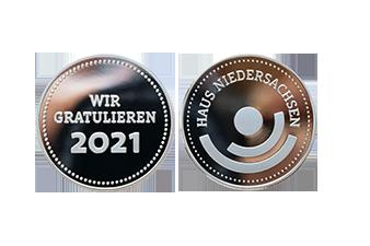 Haus Niedersachsen Münze