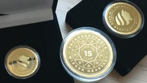 Mitarbeitergeschenk Münzen