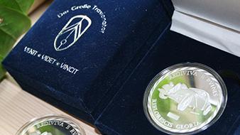 Citröen Münze mit Verpackung