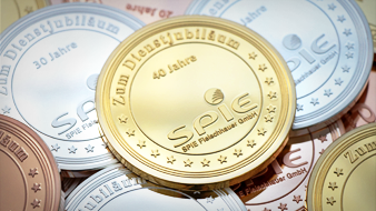 gold silber kupfer Medaillen