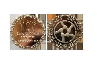 Schule Winkel Münze