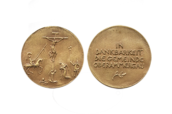 Passionsspiele Medaille