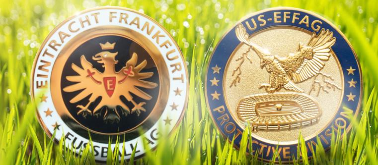 Eintracht Frankfurt Münze