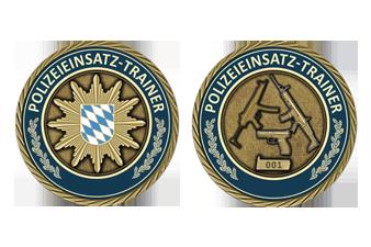 Einsatztrainig-Coin Polizei