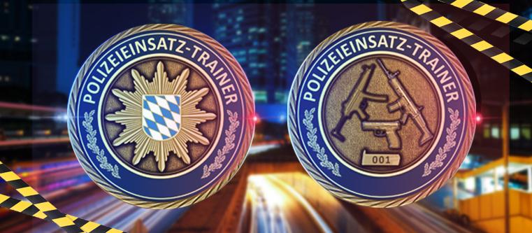 Einsatztrainig-Coin
