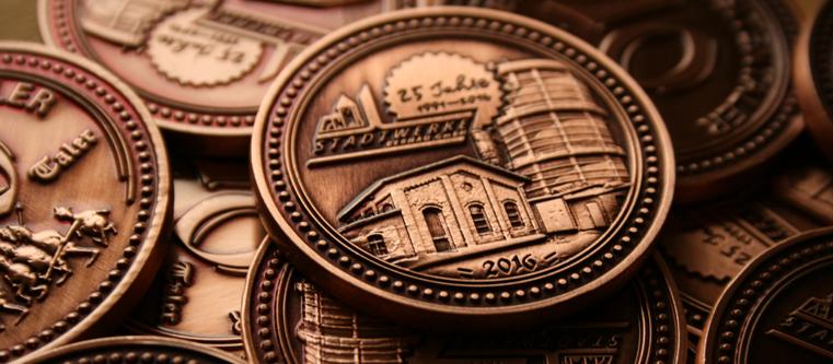 Tourismus Münze