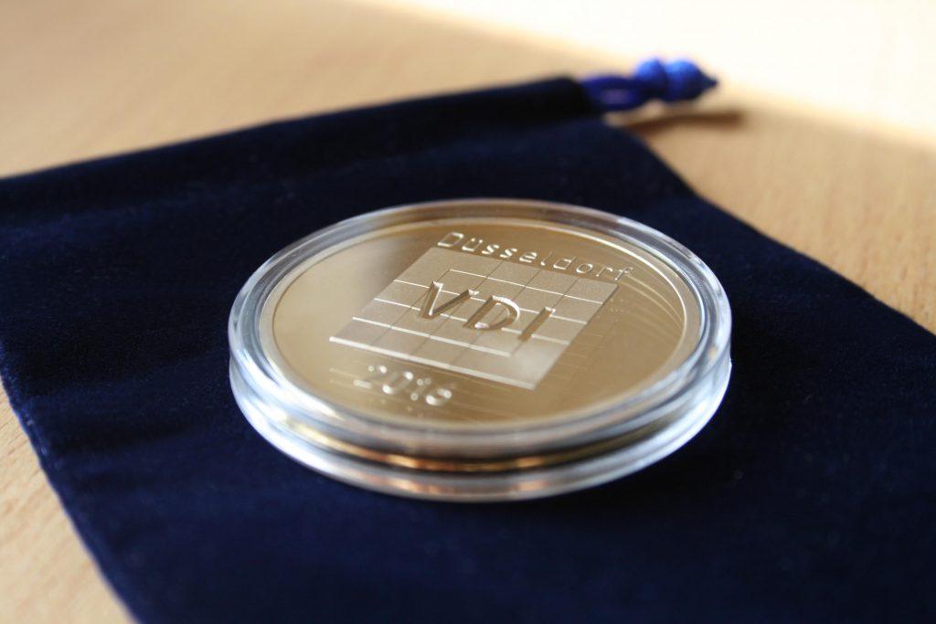 Individuelle Vereinsmünze