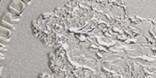 Silber - Poliert Sandstrahl